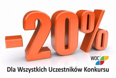 PILNE! -20% dla wszystkich uczestników konkursu OrtoProf.pl